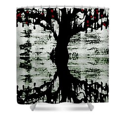 The Tree The Root Shower Curtain