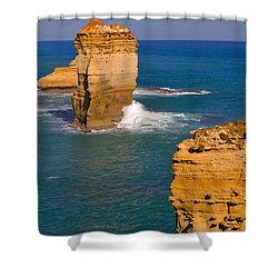 The Twelve Apostles In Port Campbell National Park Australia Shower Curtain by Louise Heusinkveld