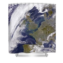 The United Kingdom Shower Curtain by Stocktrek Images