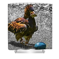 The Use Of Tools V2 Shower Curtain by Douglas Barnard