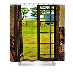 Shower Curtain featuring the photograph The View From Within by Blair Stuart