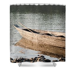 Shower Curtain featuring the photograph The Wait by Fotosas Photography