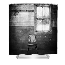 The Wallflowers Seat  Shower Curtain by Jerry Cordeiro