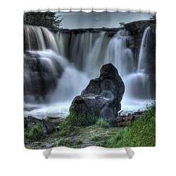 The Watchman Shower Curtain by Bob Christopher
