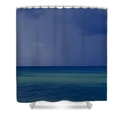 The Weather Is Changing Shower Curtain by Heiko Koehrer-Wagner