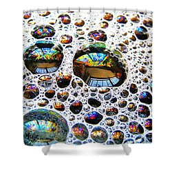Shower Curtain featuring the photograph The Windows In There by John King