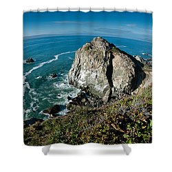 The World Is Round Shower Curtain