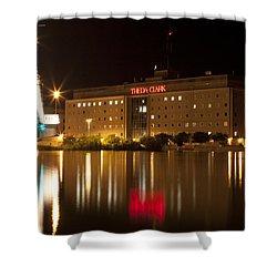 Theda Clark Hospital Shower Curtain