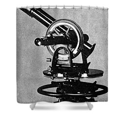 Theodolite, 1919 Shower Curtain by Science Source