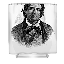 Theodore D. Weld (1803-1895) Shower Curtain by Granger