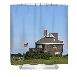 This Is America Shower Curtain by Michael Mooney