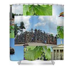 Shower Curtain featuring the photograph This Is Lietuva- Lithuania by Ausra Huntington nee Paulauskaite