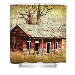 This Old House Shower Curtain by Judi Bagwell