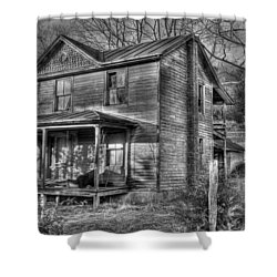 This Old House Shower Curtain by Todd Hostetter