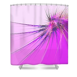 Thistle Shower Curtain by Michael Durst