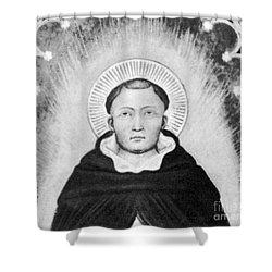 Thomas Aquinas, Italian Philosopher Shower Curtain by Science Source