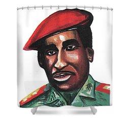 Thomas Sankara Shower Curtain