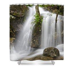 Thompson Falls - Pinkham Notch New Hampshire Usa Shower Curtain by Erin Paul Donovan