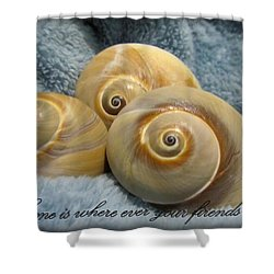 Shower Curtain featuring the photograph Three Of A Kind by Danielle  Parent