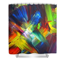 Thrive Shower Curtain by Kathy Sheeran