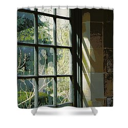 Shower Curtain featuring the photograph View Through The Window by Marilyn Wilson