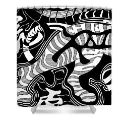 Tiger Legs Shower Curtain