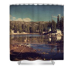Time Always Reveals Shower Curtain by Laurie Search