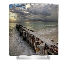 Time And Tide Shower Curtain