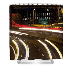 Time Lapse Shower Curtain