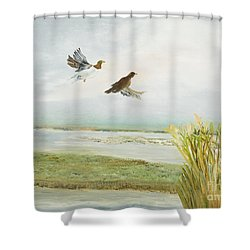 Timeless Journey Shower Curtain