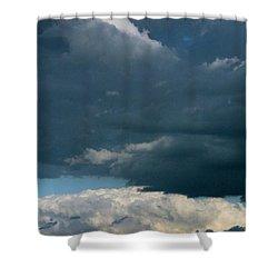 Tiny Tin Shower Curtain by Ed Smith