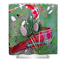 Tis The Season Shower Curtain by Anne Mott