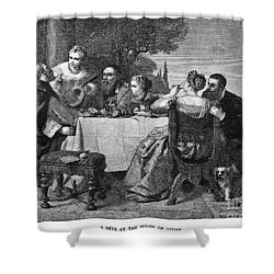 Titian (1477-1576) Shower Curtain by Granger