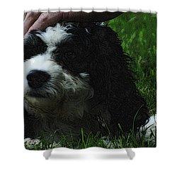 Shower Curtain featuring the photograph TLC by Lydia Holly
