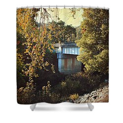 To Get To You Shower Curtain by Laurie Search