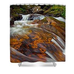 Tonahutu Creek Shower Curtain by Brian Kerls