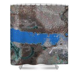 Torn 2 Shower Curtain by Tim Allen