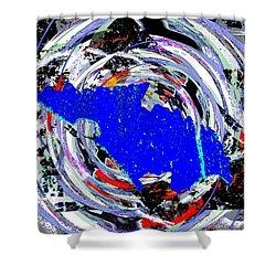 Torn Shower Curtain by Tim Allen
