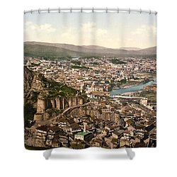 Town Fortress In Tbilisi - Georgia Shower Curtain by International  Images