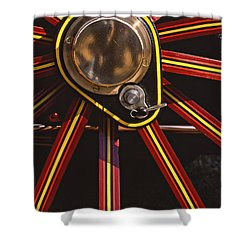 Traction Shower Curtain by Meirion Matthias