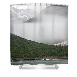 Tracy Arm Inlet Shower Curtain