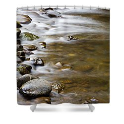 Tranquil Shower Curtain by Heidi Smith