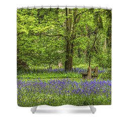Shower Curtain featuring the photograph Tranquility by Clare Bambers
