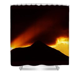 Shower Curtain featuring the photograph Transcending The Mind by Susanne Still