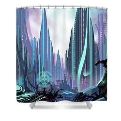 Transia Shower Curtain
