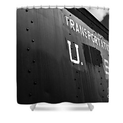 Transportation Corps Car Shower Curtain