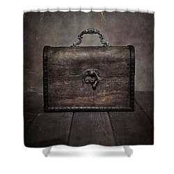 Treasure Shower Curtain by Joana Kruse