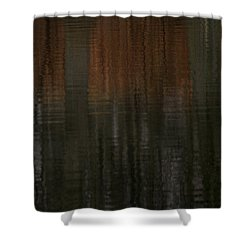 Trees Of April Shower Curtain by Karol Livote