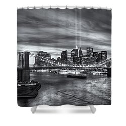 Tribute In Light V Shower Curtain by Clarence Holmes