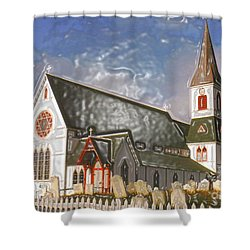 Shower Curtain featuring the photograph Trinity  by Lydia Holly